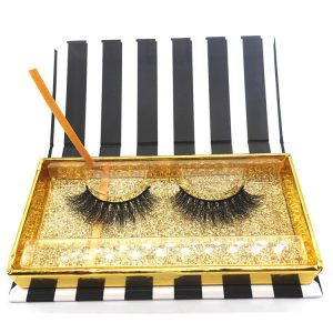 100% Own Brand Private Label 3d mink lashes, Fur Mink Eyelashes