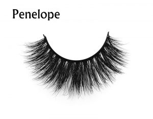 Mink Eye Lashes 100%real siberian mink strip eyelashes 3D mink lashes with custom packaging