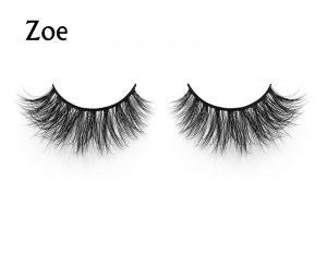 wholesale factory price small MOQ 3D real mink false eyelash